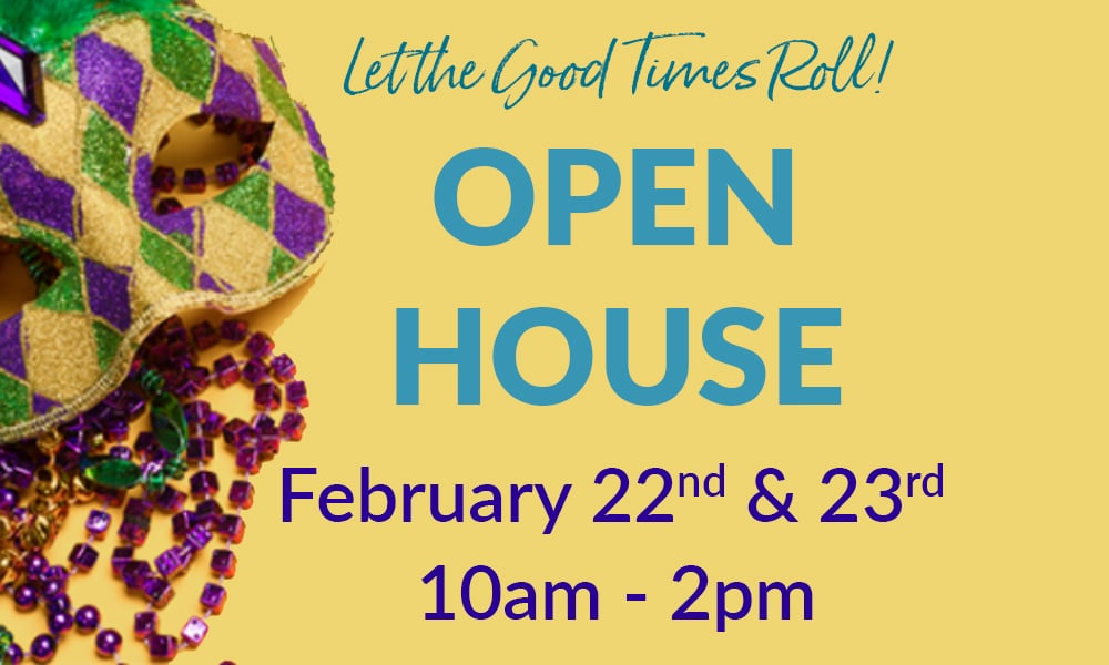 Open House February 22 and 23